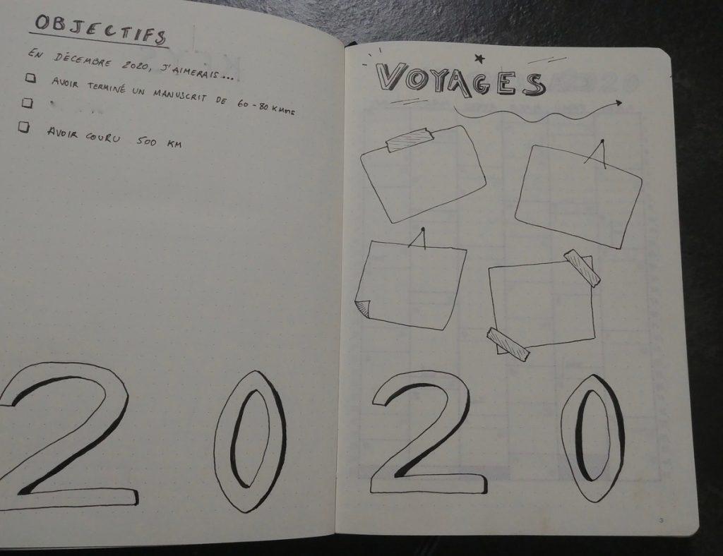 Bullet Journal : 2020