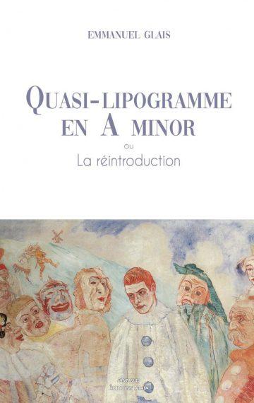Quasi Lipogramme en A-minor, ou la reproduction (couverture)