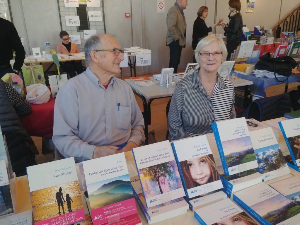 Eliane et Henri Protto, des éditions L'Astre Bleu
